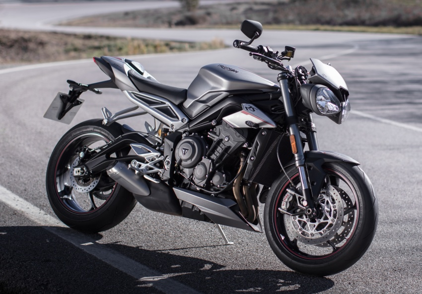 REVIEW: 2017 Triumph Street Triple 765 RS – media road and track test in Catalunya, Spain Image #616579