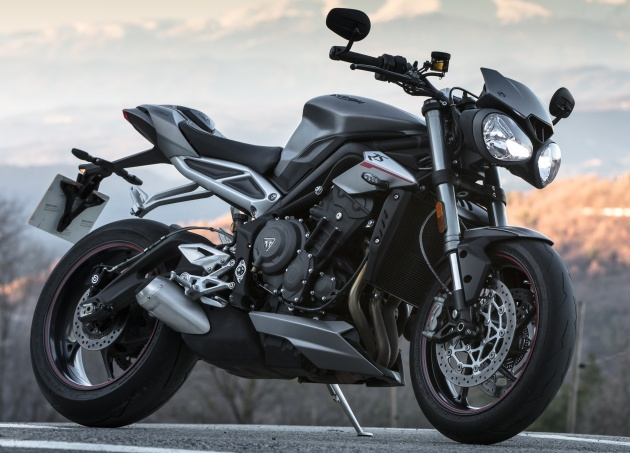 review: 2017 triumph street triple 765 rs - media road and track