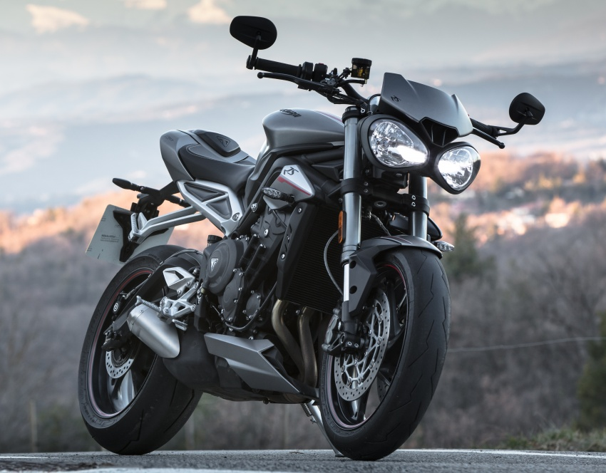 REVIEW: 2017 Triumph Street Triple 765 RS – media road and track test in Catalunya, Spain Image #616582