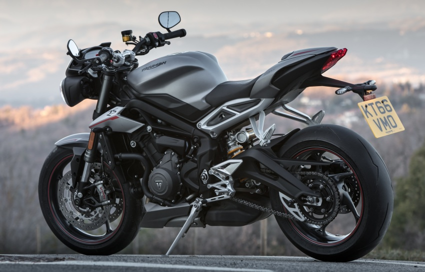 REVIEW: 2017 Triumph Street Triple 765 RS – media road and track test in Catalunya, Spain Image #616583