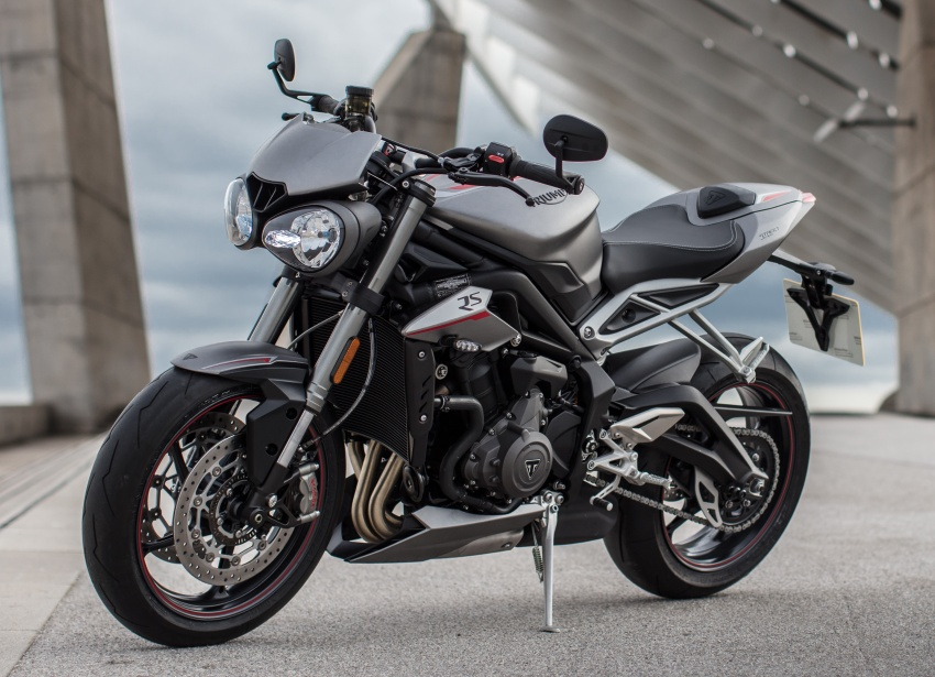 REVIEW: 2017 Triumph Street Triple 765 RS – media road and track test in Catalunya, Spain Image #616586