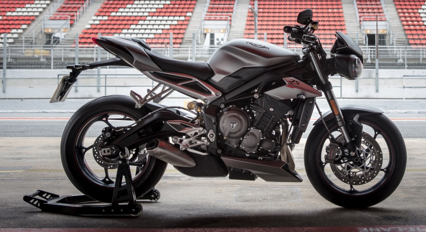review: 2017 triumph street triple 765 rs – media road and track