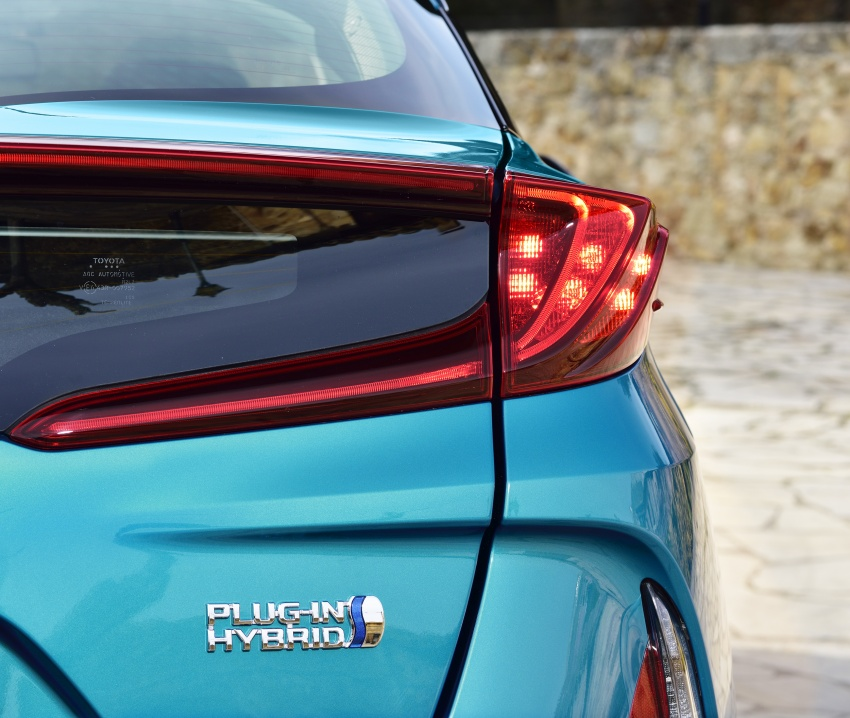 New Toyota Prius Plug-in Hybrid – double the EV range Image #612708