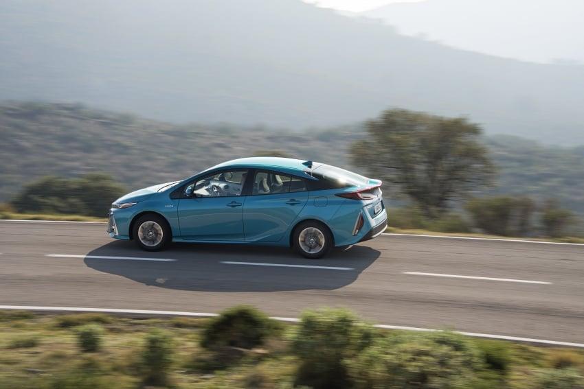 New Toyota Prius Plug-in Hybrid – double the EV range Image #612728