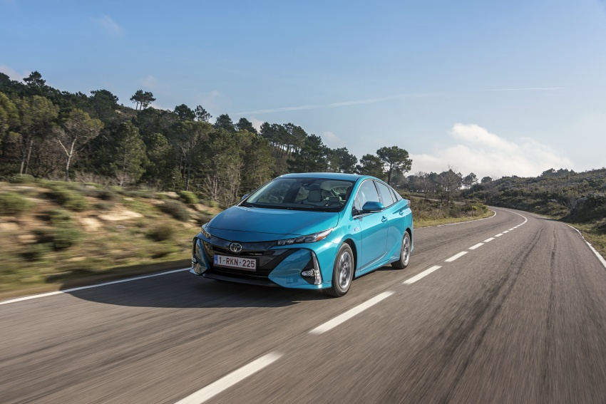 New Toyota Prius Plug-in Hybrid – double the EV range Image #612729