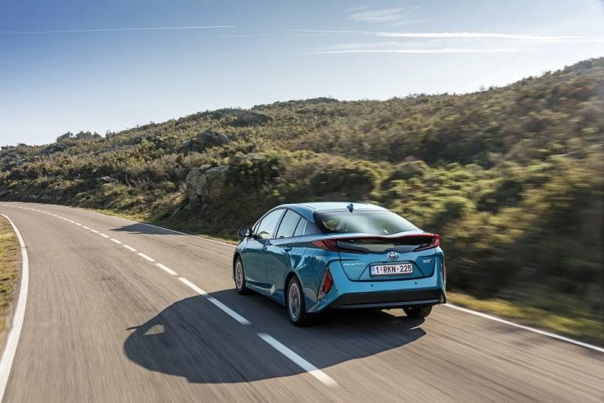 New Toyota Prius Plug-in Hybrid – double the EV range Image #612738