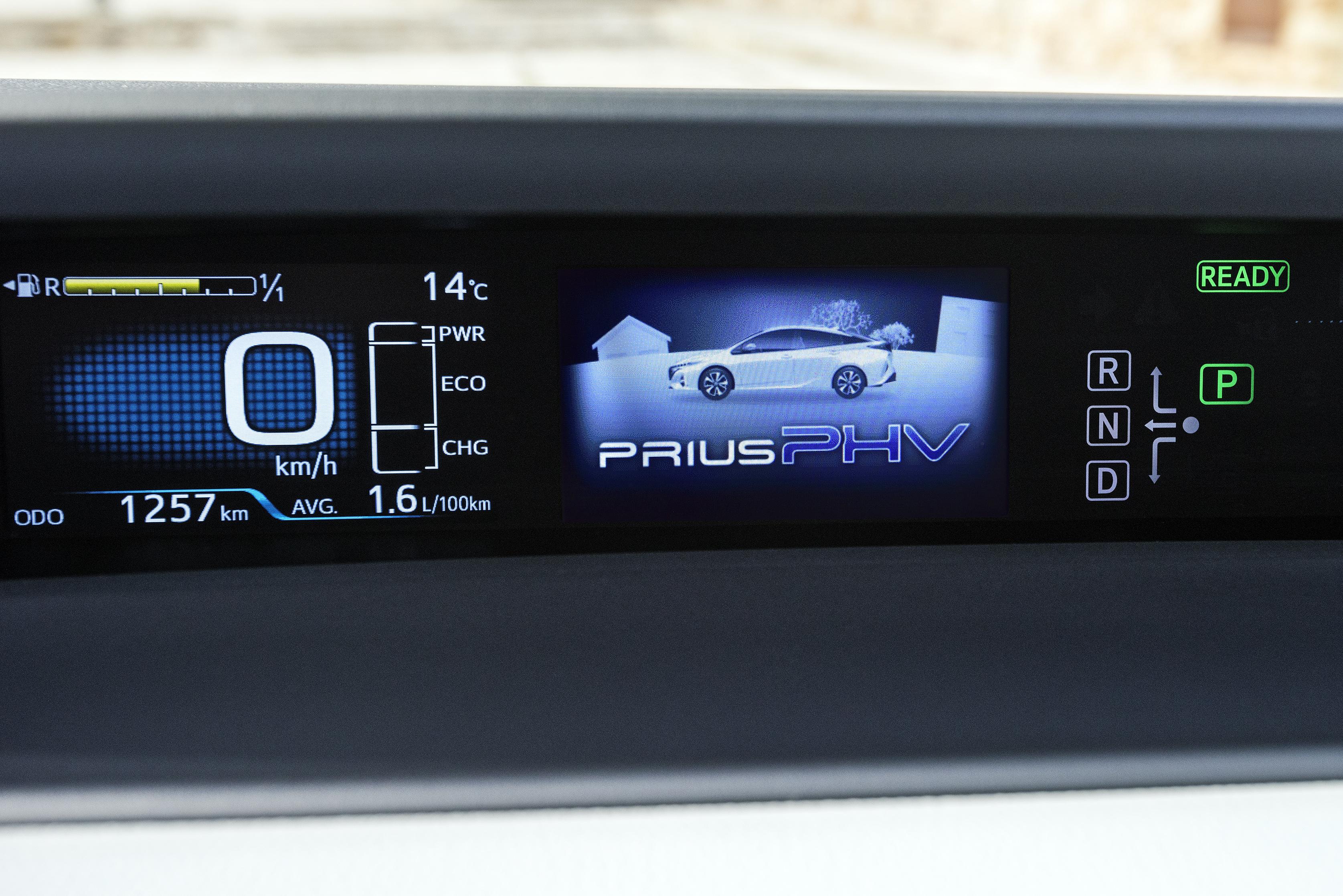 New Toyota Prius Plug-in Hybrid – double the EV range Image 612750