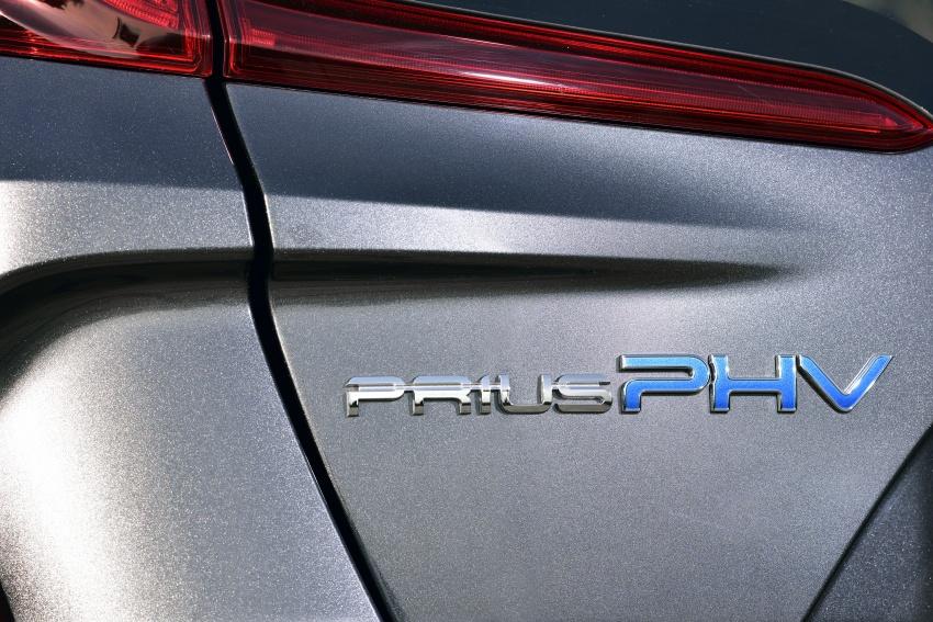 New Toyota Prius Plug-in Hybrid – double the EV range Image #612766