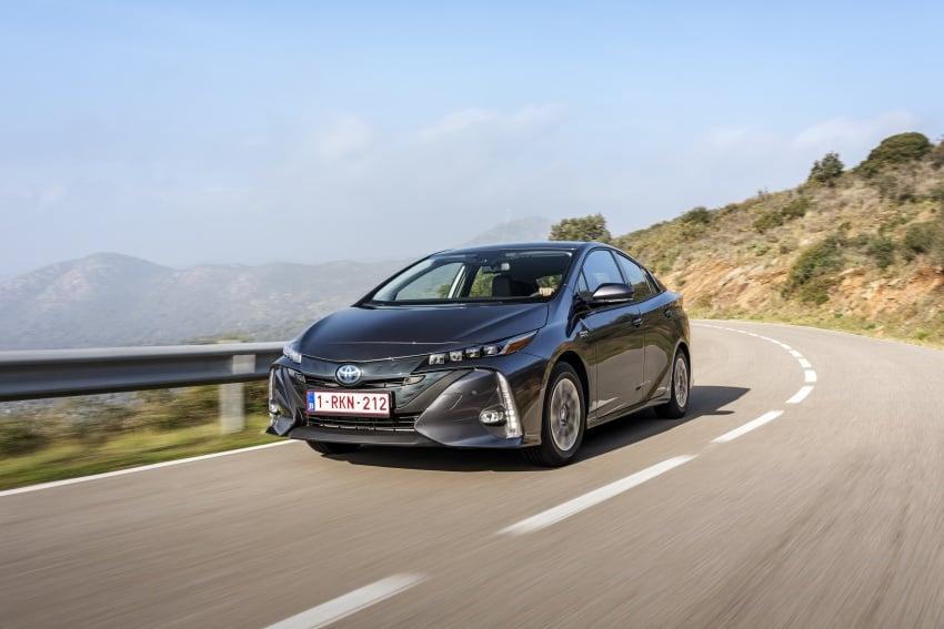 New Toyota Prius Plug-in Hybrid – double the EV range Image #612771