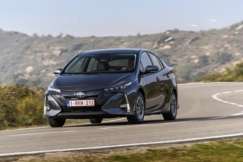 New Toyota Prius Plug-in Hybrid – double the EV range Image #612780
