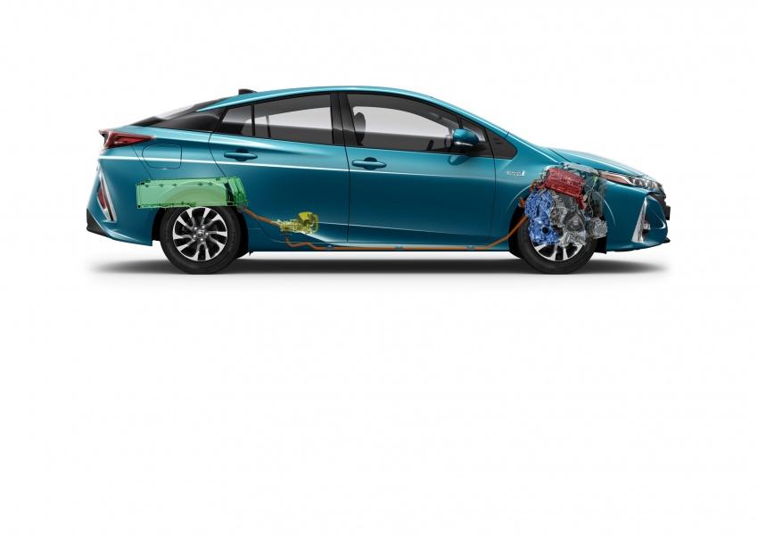 New Toyota Prius Plug-in Hybrid – double the EV range Image #612842