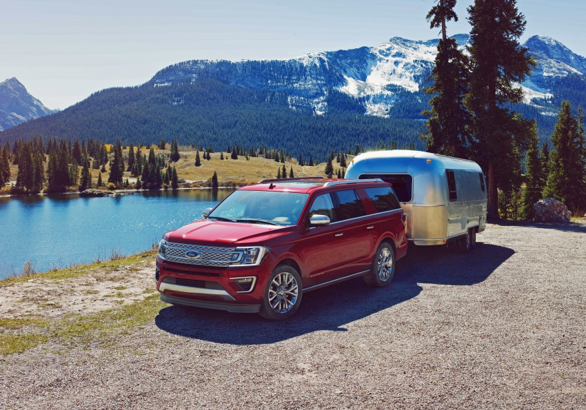 2018 Ford Expedition – aluminium body, 136 kg lighter Image #612676