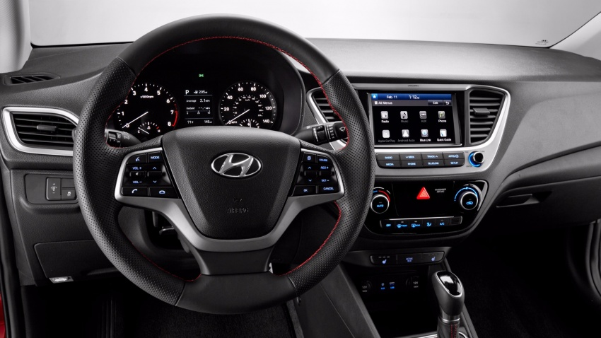 2018 Hyundai Accent – fifth-gen compact makes debut Image #617023
