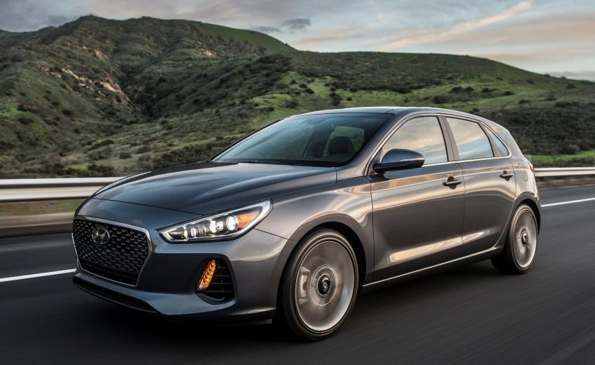 2018 Hyundai Elantra GT – US market i30 makes debut Image ...