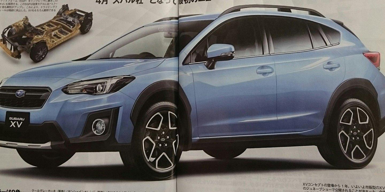 Subaru XV 2018 didedahkan oleh majalah Jepun Image 615491