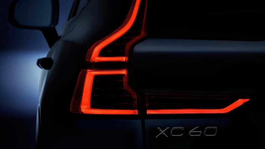 2018 Volvo XC60 teasers continue – rear LEDs shown Image #621524