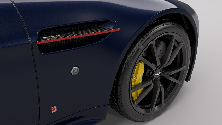 Aston Martin V8/V12 Vantage Red Bull Racing Edition Image #618202