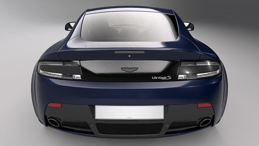 Aston Martin V8/V12 Vantage Red Bull Racing Edition Image #618212