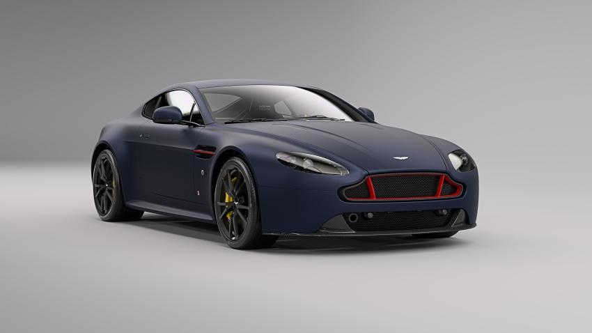 Aston Martin V8/V12 Vantage Red Bull Racing Edition Image #618229