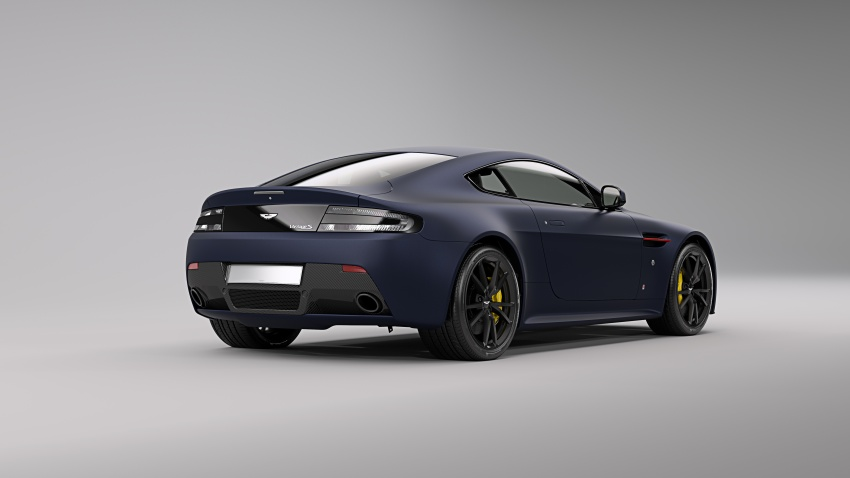 Aston Martin V8/V12 Vantage Red Bull Racing Edition Image #618231