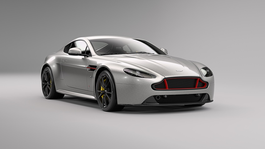 Aston Martin V8/V12 Vantage Red Bull Racing Edition Image #618232