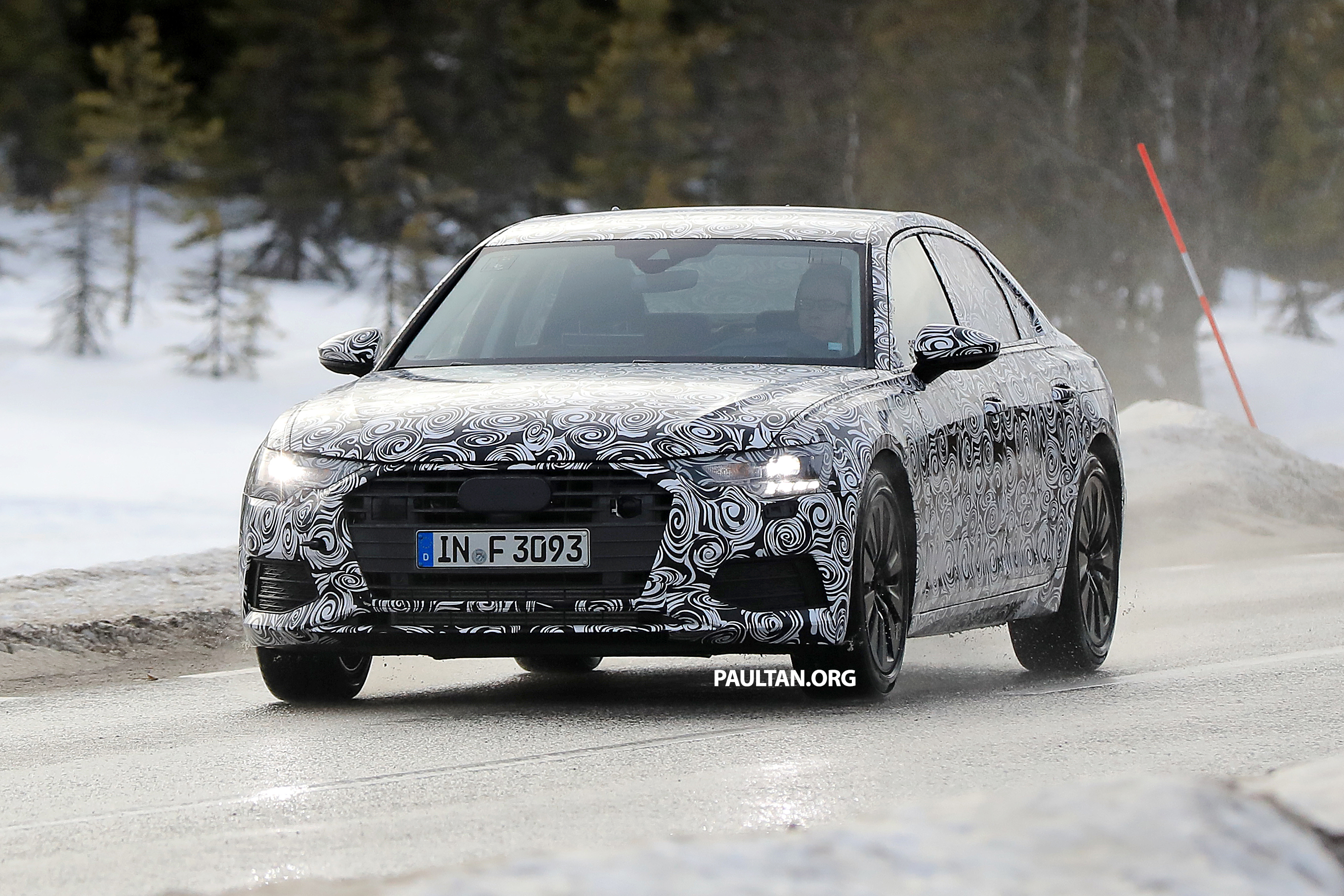 SPYSHOTS: 2018 Audi A6 shows off its new curves Image 615132