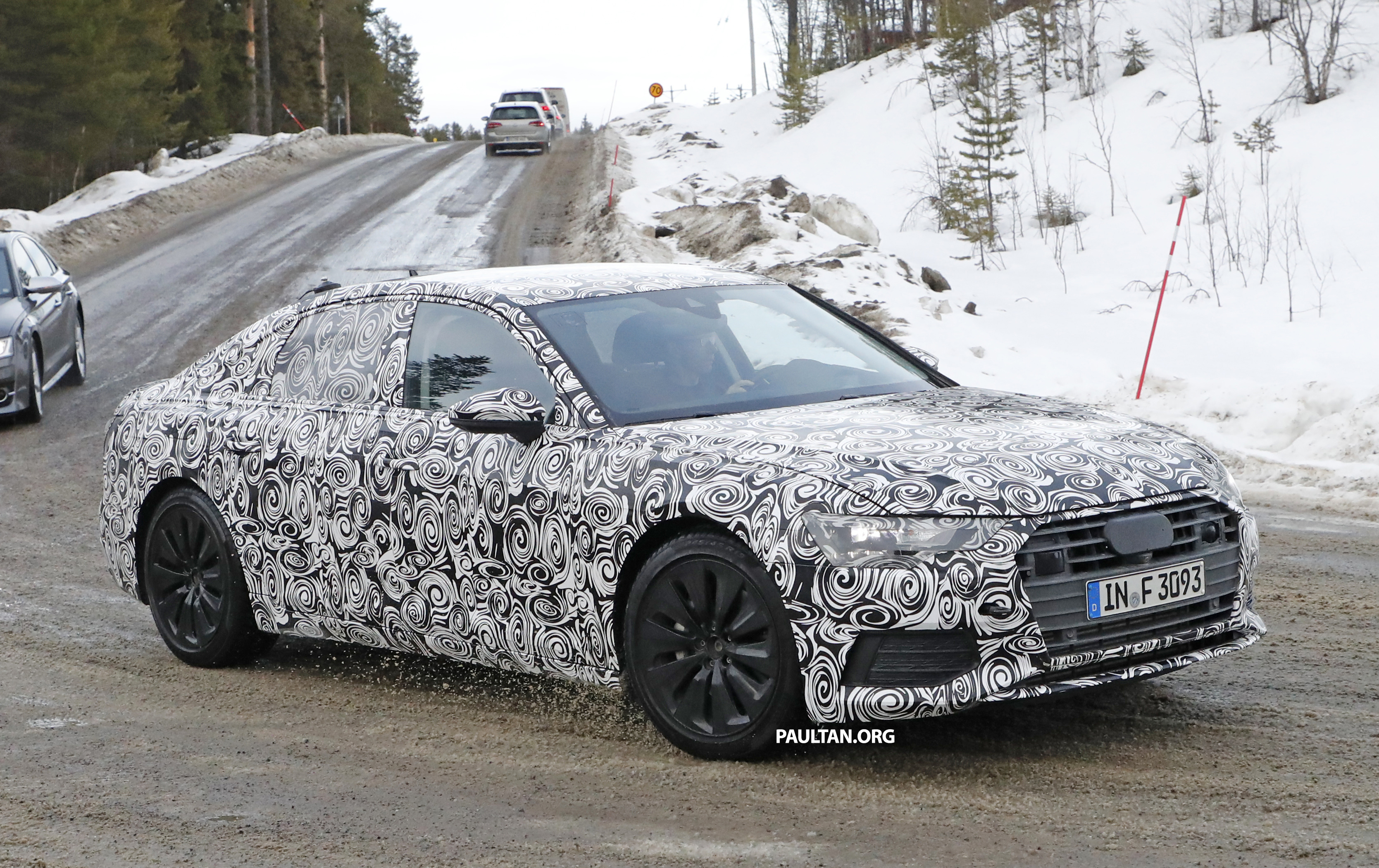 SPYSHOTS: 2018 Audi A6 shows off its new curves Image 615123