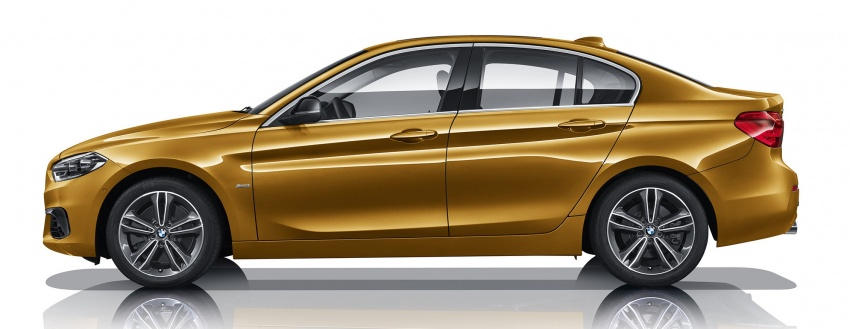 BMW 1 Series Sedan launched in China, only for China Image #621543