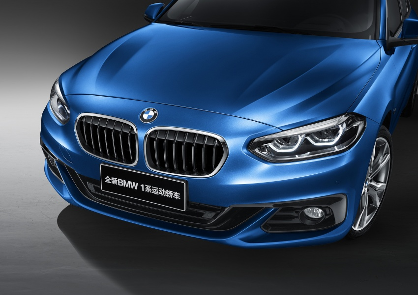 BMW 1 Series Sedan launched in China, only for China Image #621545