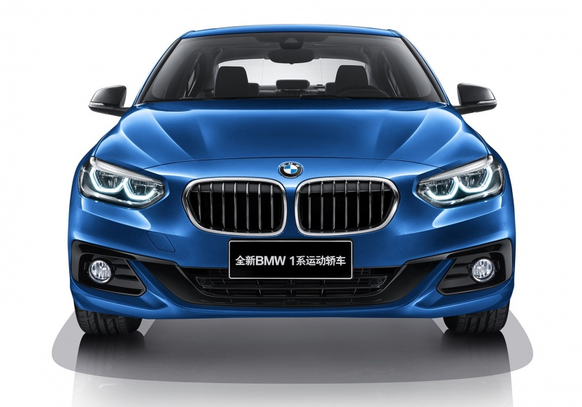 BMW 1 Series Sedan launched in China, only for China Image #621546