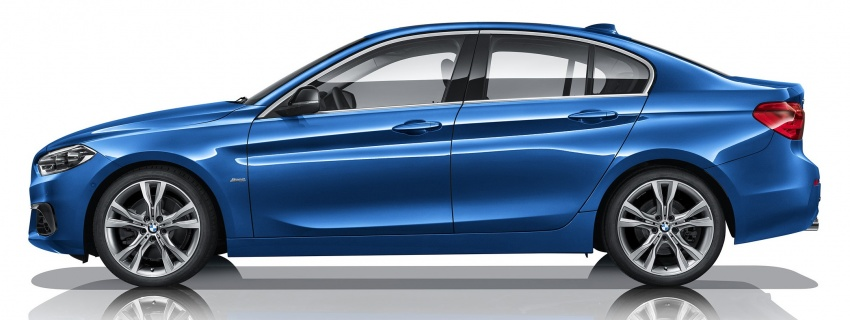 BMW 1 Series Sedan launched in China, only for China Image #621548