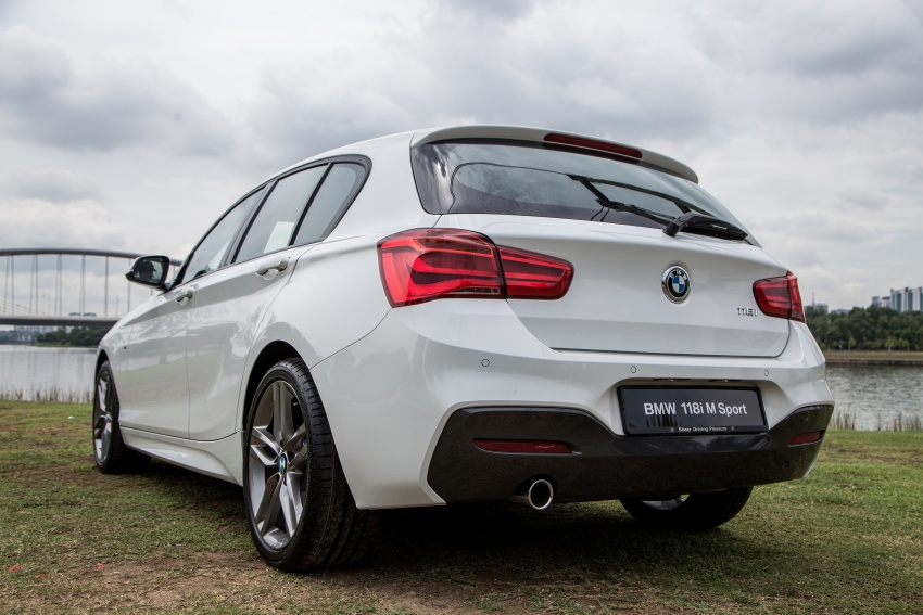 Bmw 118i M Sport Launched In Malaysia Rm189k Image 610065