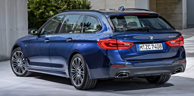 G31 Bmw 5 Series Touring Unveiled 1700 Litre Boot