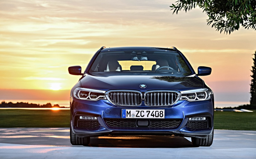 G31 BMW 5 Series Touring unveiled – 1,700-litre boot Image #610192