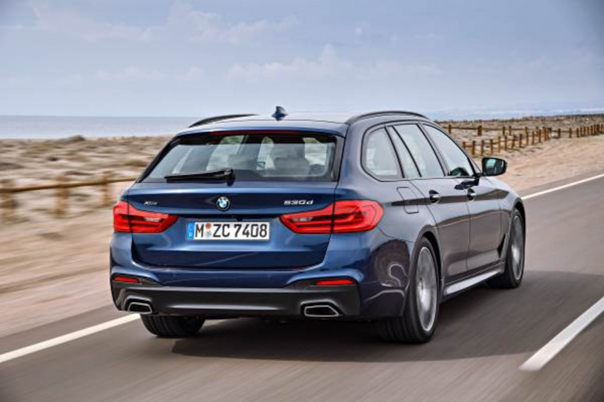G31 BMW 5 Series Touring unveiled – 1,700-litre boot Image #610241