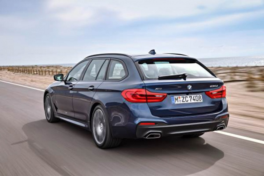 G31 BMW 5 Series Touring unveiled – 1,700-litre boot Image #610242