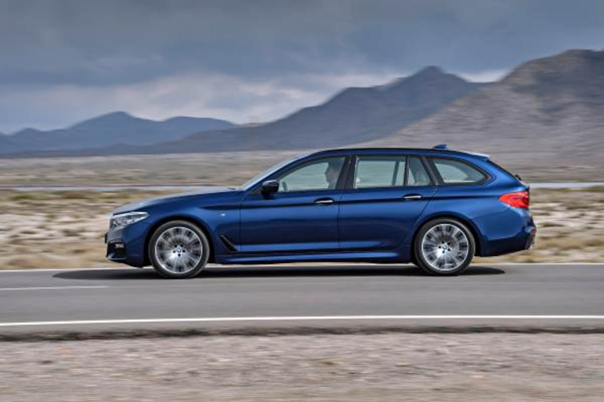 G31 BMW 5 Series Touring unveiled – 1,700-litre boot Image #610243