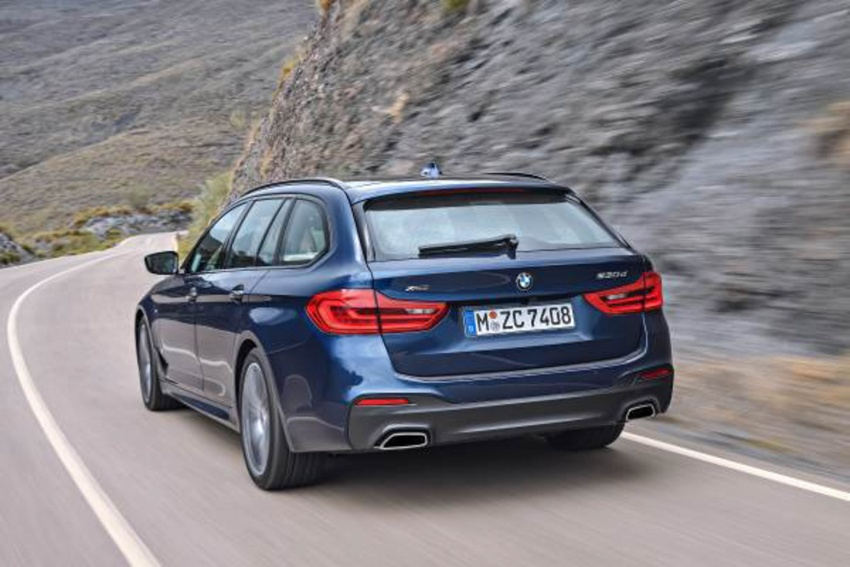 G31 BMW 5 Series Touring unveiled – 1,700-litre boot Image #610245
