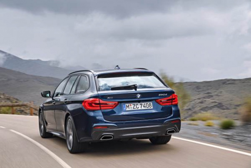 G31 BMW 5 Series Touring unveiled – 1,700-litre boot Image #610246