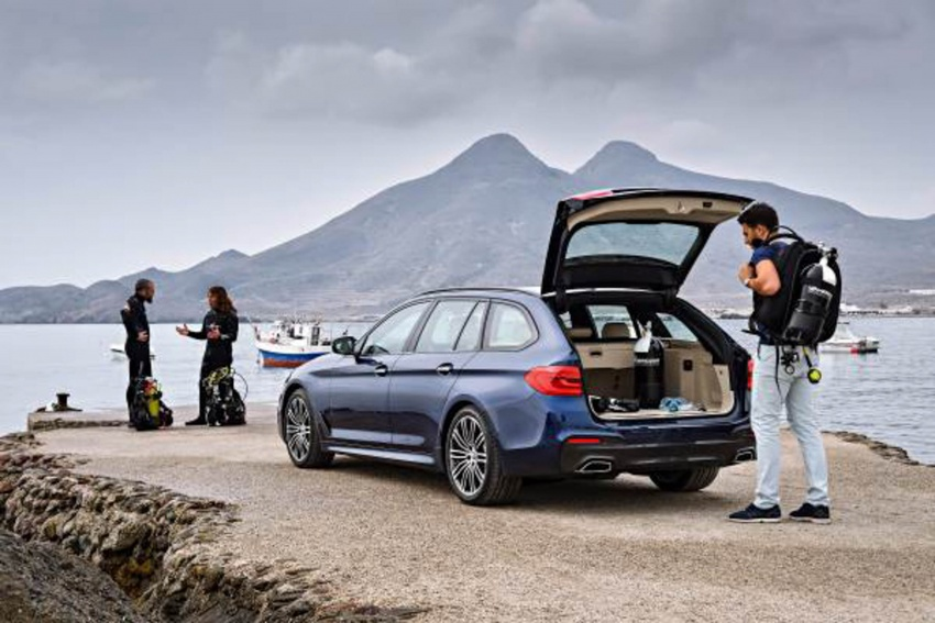 G31 BMW 5 Series Touring unveiled – 1,700-litre boot Image #610247