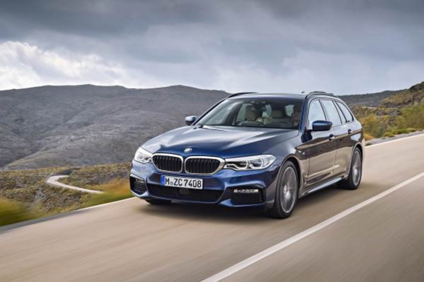 G31 BMW 5 Series Touring unveiled – 1,700-litre boot Image #610248