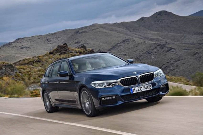 G31 BMW 5 Series Touring unveiled – 1,700-litre boot Image #610249