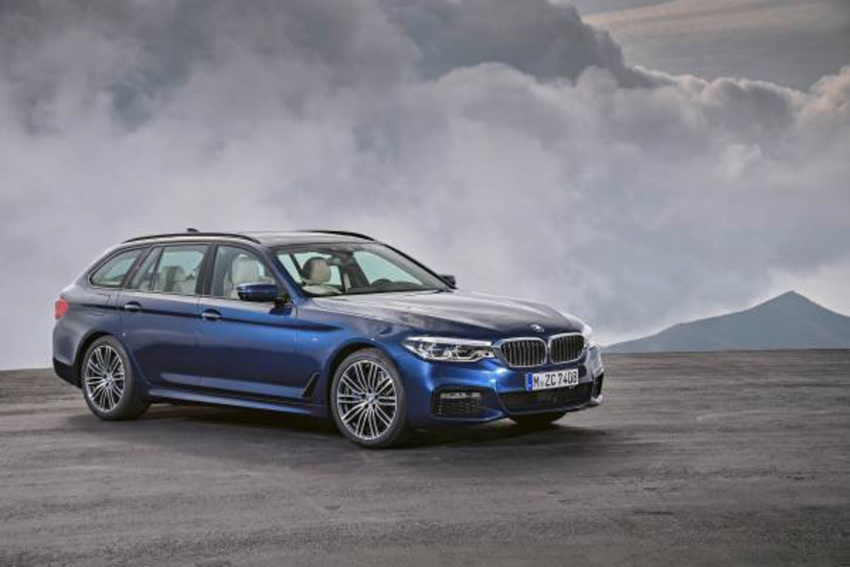 G31 BMW 5 Series Touring unveiled – 1,700-litre boot Image #610250