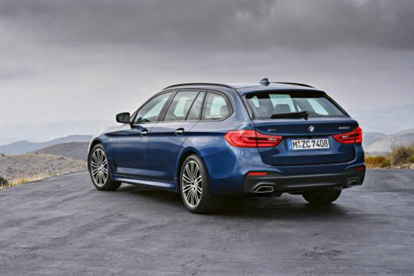 G31 BMW 5 Series Touring unveiled – 1,700-litre boot Image #610251