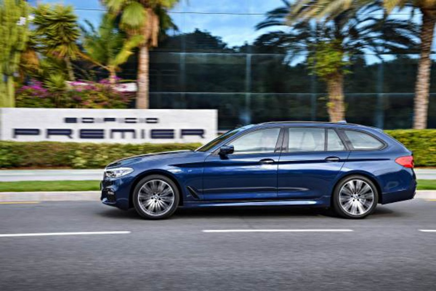 G31 BMW 5 Series Touring unveiled – 1,700-litre boot Image #610253