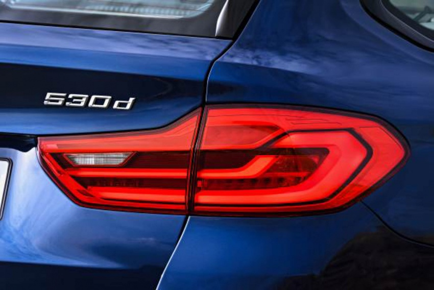 G31 BMW 5 Series Touring unveiled – 1,700-litre boot Image #610254