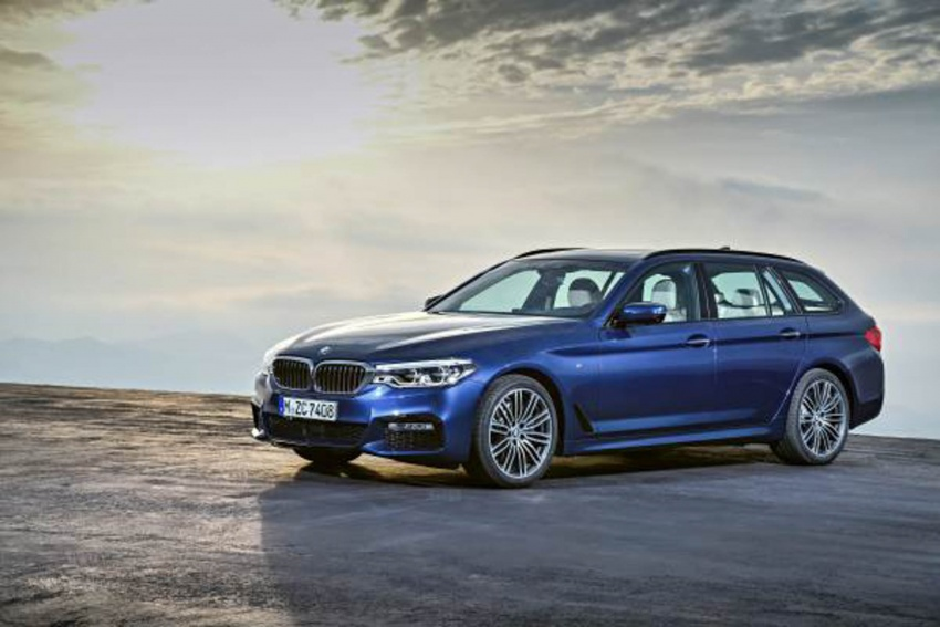 G31 BMW 5 Series Touring unveiled – 1,700-litre boot Image #610256