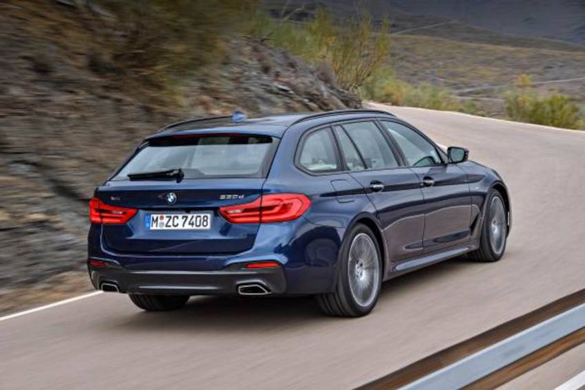G31 BMW 5 Series Touring unveiled – 1,700-litre boot Image #610257