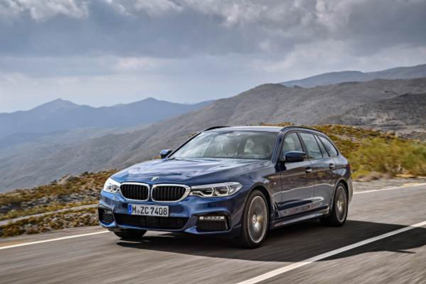 G31 BMW 5 Series Touring unveiled – 1,700-litre boot Image #610262