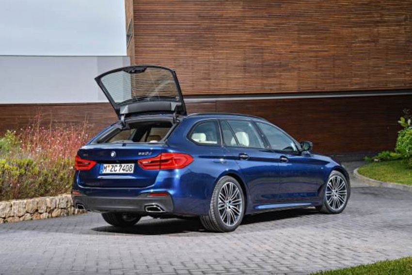 G31 BMW 5 Series Touring unveiled – 1,700-litre boot Image #610264